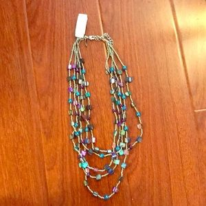 NWT NY & Co layered look necklace